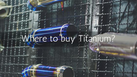 Where to buy Titanium? - Titek