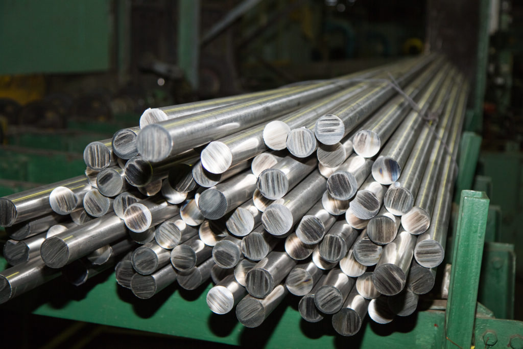What are titanium rods used for